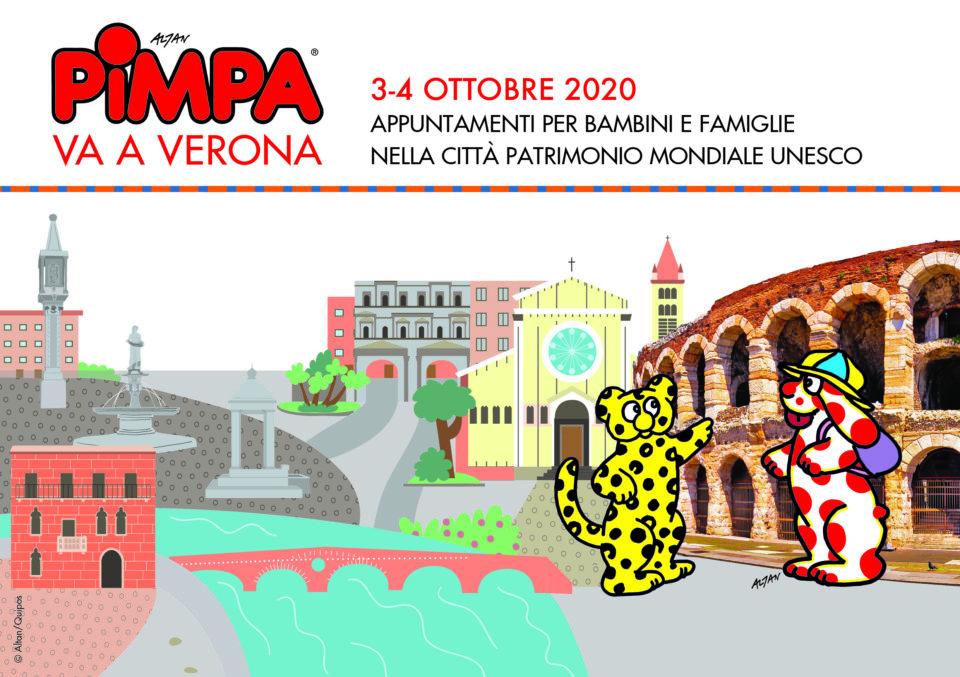 Pimpa va a Verona 3-4 Ottobre 2020